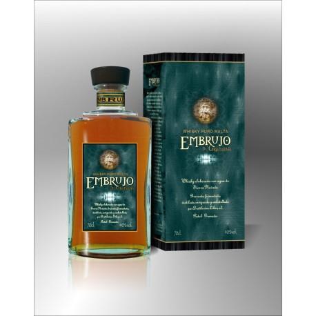 Whisky puro Malta Embrujo de Granada 40% 700ml