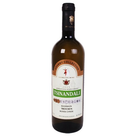 Vino de Georgia Tsinandaly Blanco, seco 0.75l