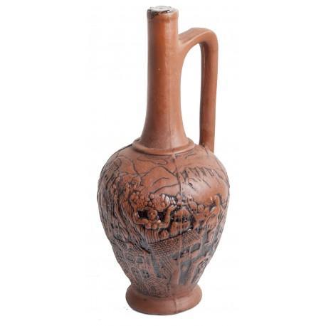 Vino Georgiano en Botella de Diseño Ánfora N.5 Kindzmaraúli tinto semidulce 0.75