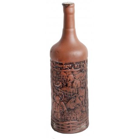 Vino Georgiano en Botella de Diseño N.8 Saperavi seco 1L