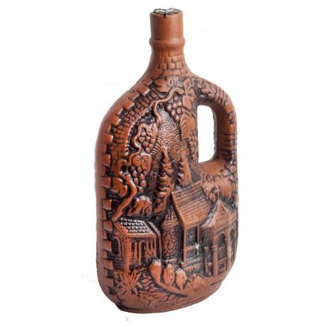 Vino Georgiano en Botella de Diseño N.10 Saperavi seco